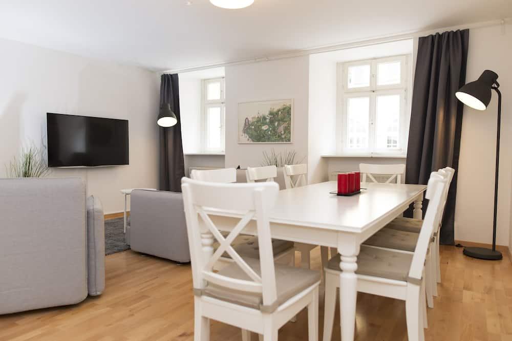 Apartment, 2Schlafzimmer (EG) - Essbereich im Zimmer