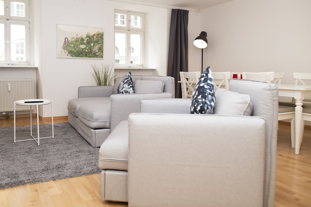 Apartment, 2Schlafzimmer (EG) - Wohnbereich