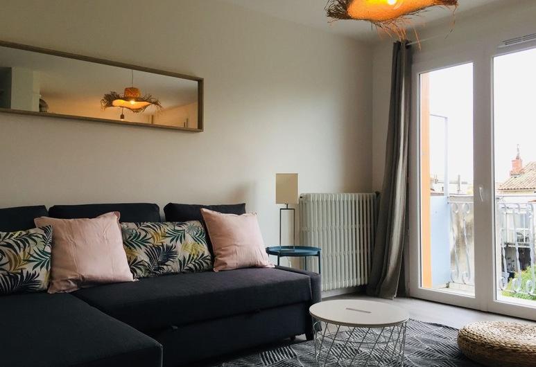 Casanova, Toulouse, Appartement, Coin séjour