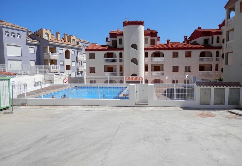 Apartamentos Gardenias 3000, Alcalà de Xivert, Vonkajší bazén
