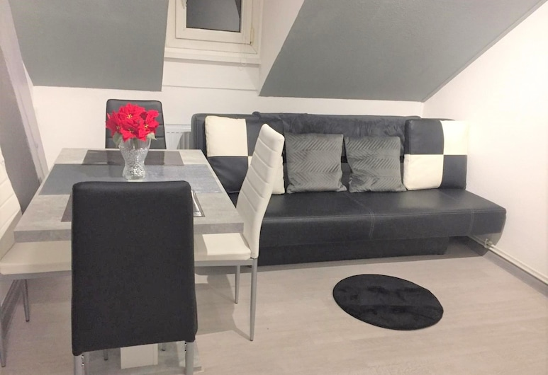 MyHome Basel 3A44, Saint-Louis, Comfort Apartment, 1 Double Bed with Sofa bed, Non Smoking, Living Room