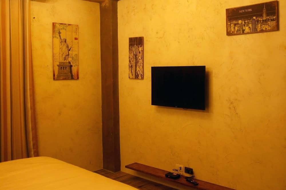 Стандартный двухместный номер с 1 двуспальной кроватью, для некурящих - Ванная комната