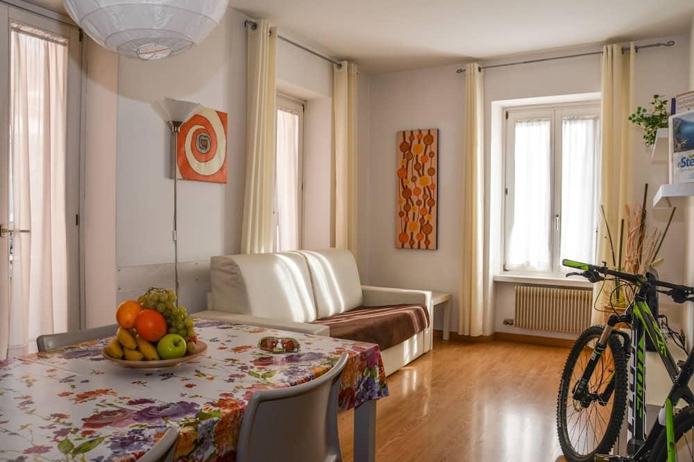 Leilighet, 1 soverom, balkong (2-4 Pax) - Oppholdsområde