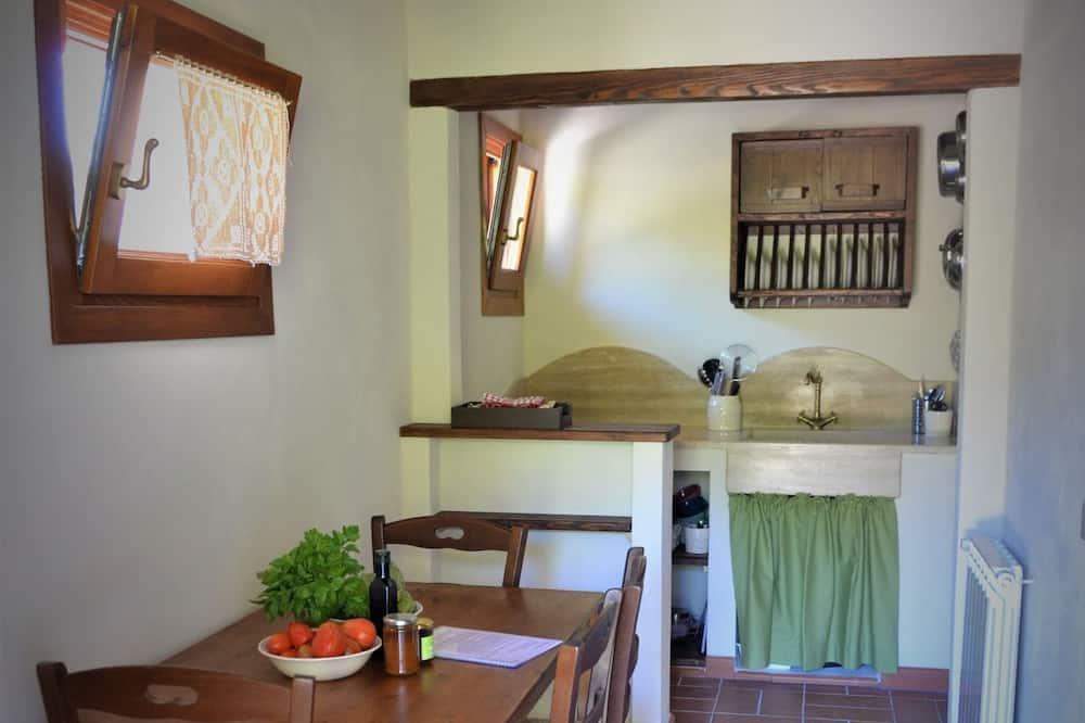 Appartamento Castagno - Obývací pokoj