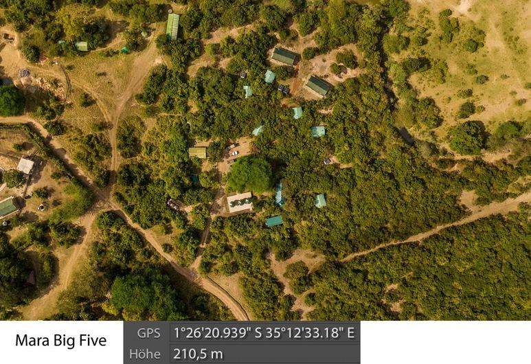 Mara Big Five Lodge, Maasai Mara, Avlu