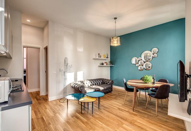 聖埃利吉奧 2BDR 酒店, 羅馬, 公寓, 2 間臥室, 客廳