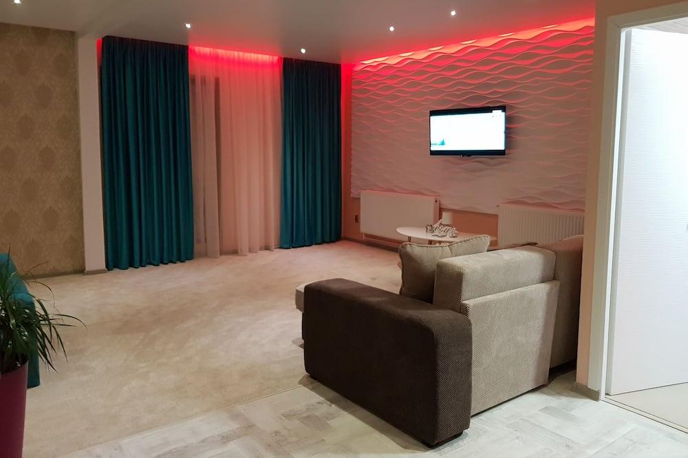 Lägenhet Deluxe - icke-rökare - terrass - Balkong