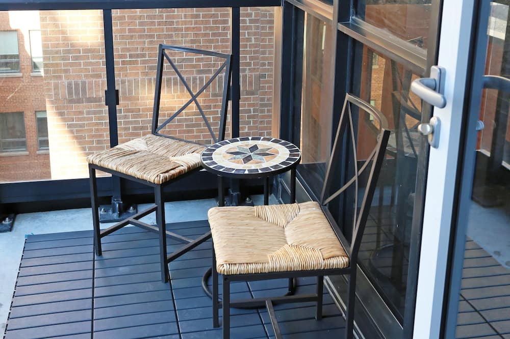 Design lakás - Erkély