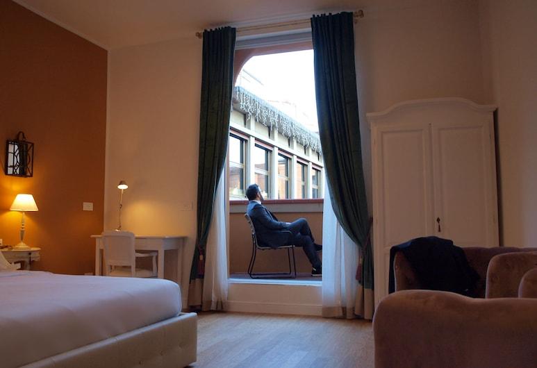 Cosmopolitan Central Rooms, Bologna, Deluxe tweepersoonskamer, Uitzicht op de stad, Kamer