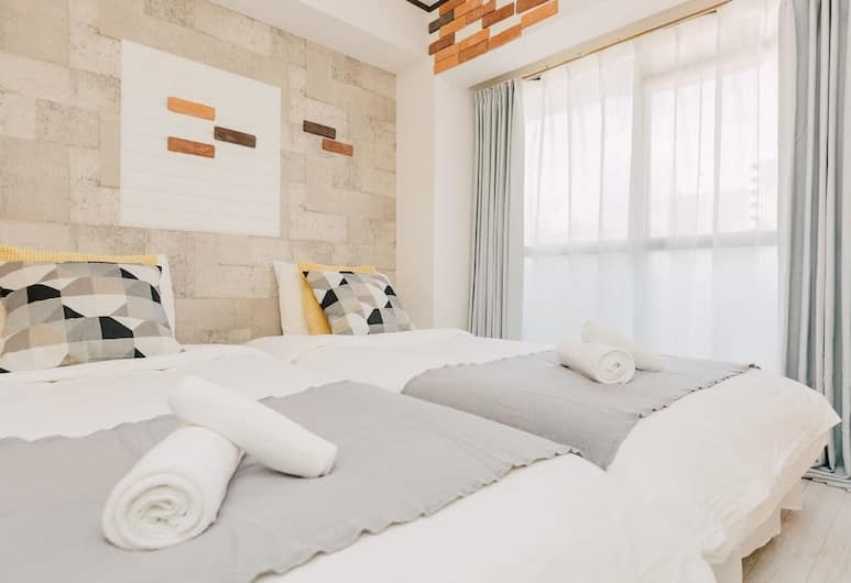 AFP Apartment Hotel 難波高津 (日本橋駅前), 大阪市, コンフォート アパートメント 2 ベッドルーム 2 バスルーム ( 601 ), 部屋