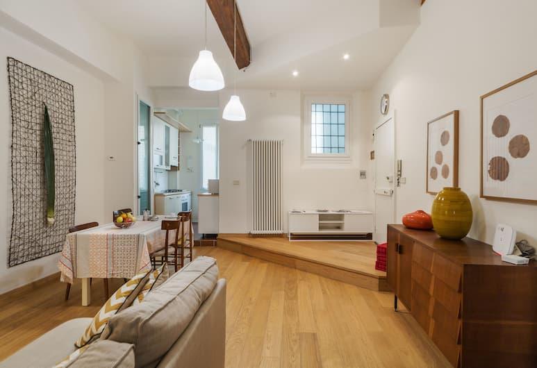 Pratello Cozy Flat, Bologna, Appartement, 2 slaapkamers, Woonruimte