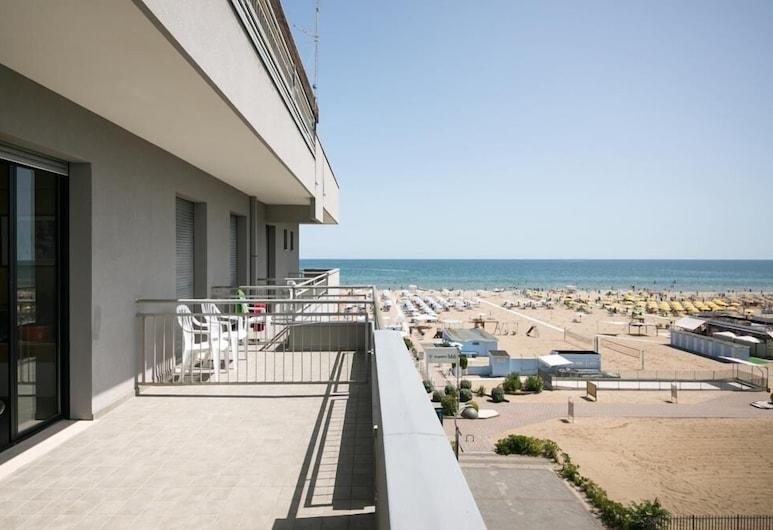 Hotel Giglio, Rimini, Double Room, Balcony, Sea View, Terrace/Patio