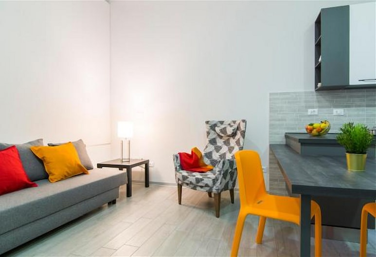 Freccia Rossa Bologna Apartment, Bologna, Apartment, 1 Bedroom, Living Area