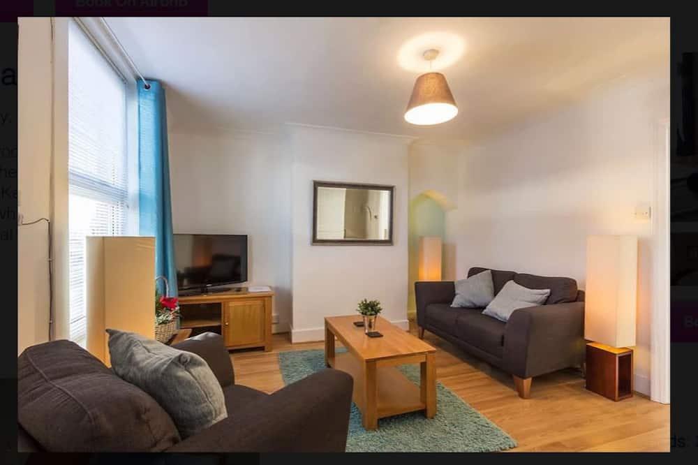 Rekreačná chata, 2 dvojlôžka, nefajčiarska izba - Obývačka