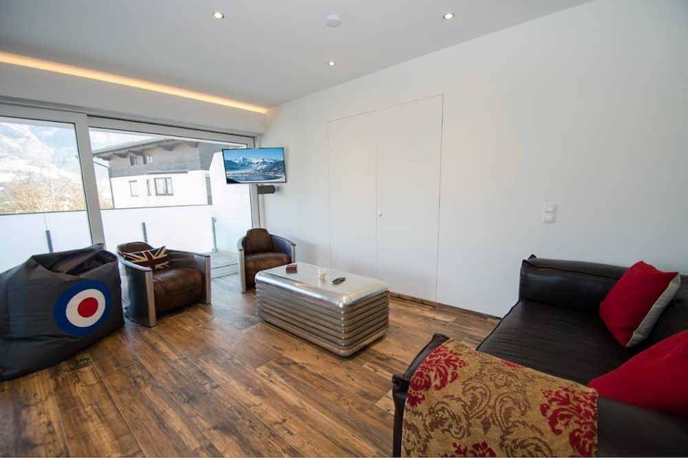 Apartmán (Superb Alpine Lodges Zell am See 4pax) - Obývacie priestory