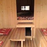Holzfass - Wohnbereich