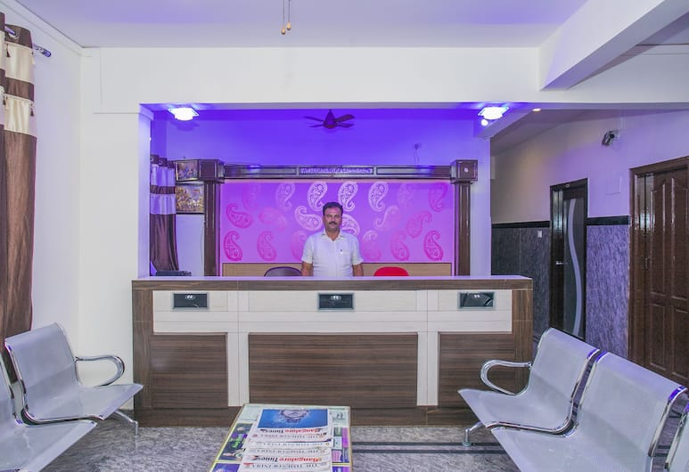 OYO 26817 Gks Residency, Bengaluru, Reception