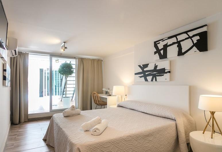 ApartUP Cabanyal Market, Валенсія, Апартаменти, 3 спальні, тераса, Номер