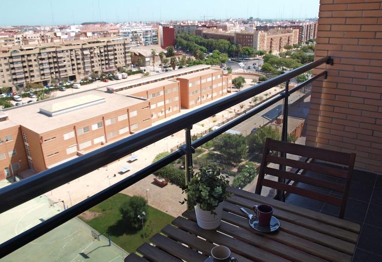ApartUP Francia Contemporary, Valencia, Căn hộ, 1 phòng ngủ, Sân thượng/sân hiên