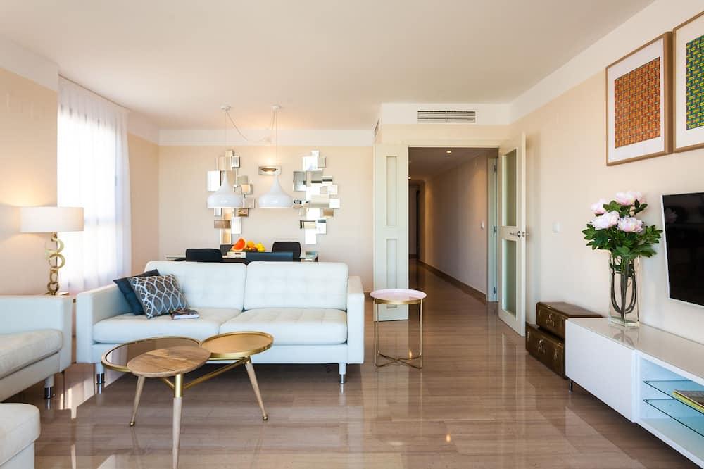 Appartement, 3 chambres, terrasse - Salle de séjour