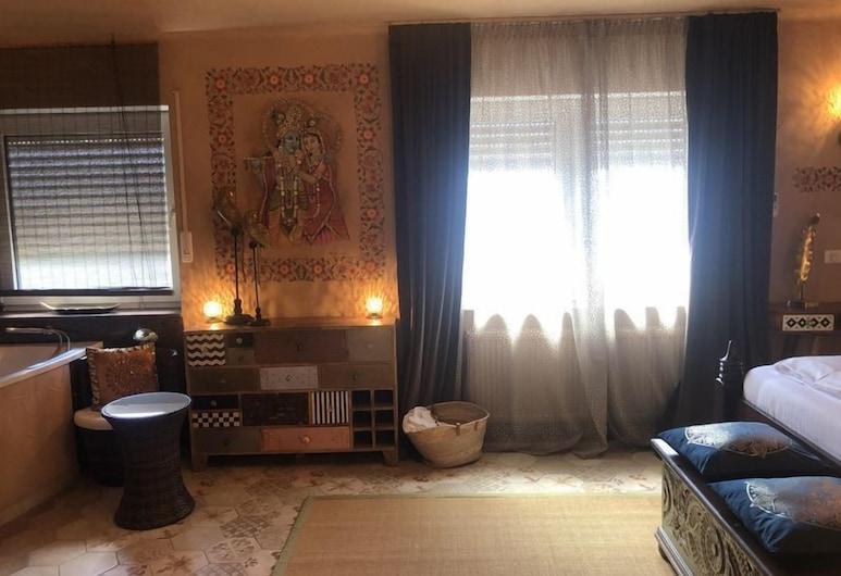 Wellness und Spa Hotel Ziegelruh, Babenhausen, Suite with private sauna, Living Area