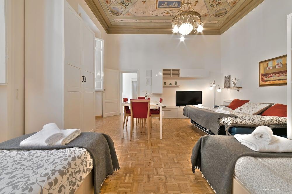 Панорамні апартаменти, 1 спальня - Вітальня