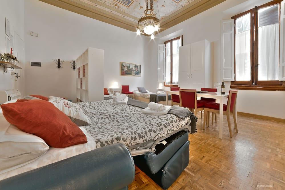 Панорамні апартаменти, 1 спальня - Житлова площа