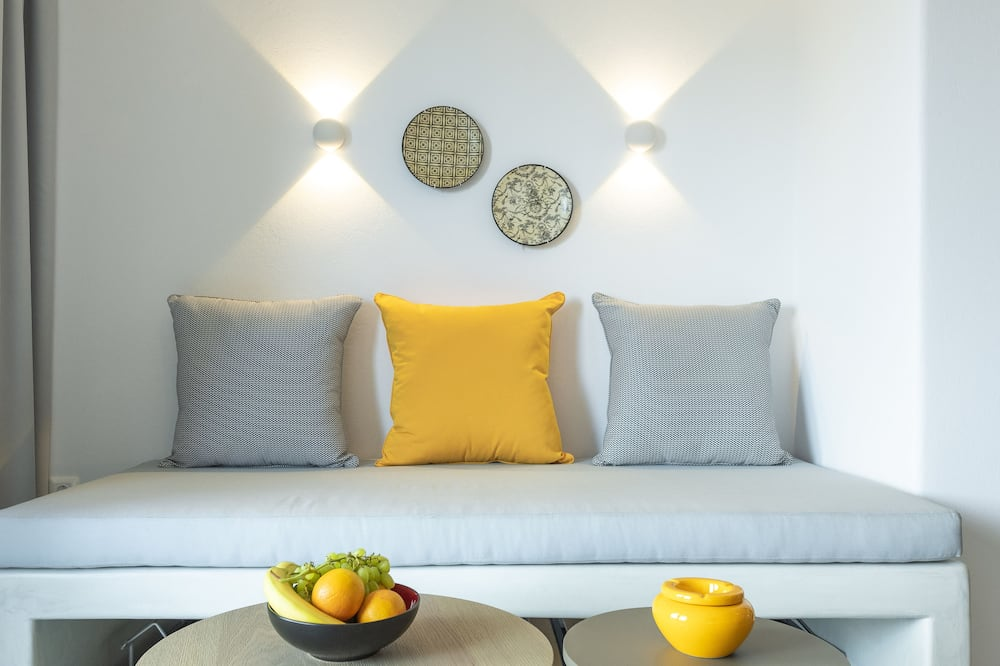 Apartment, Sea View (Aelia 1) - Living Area