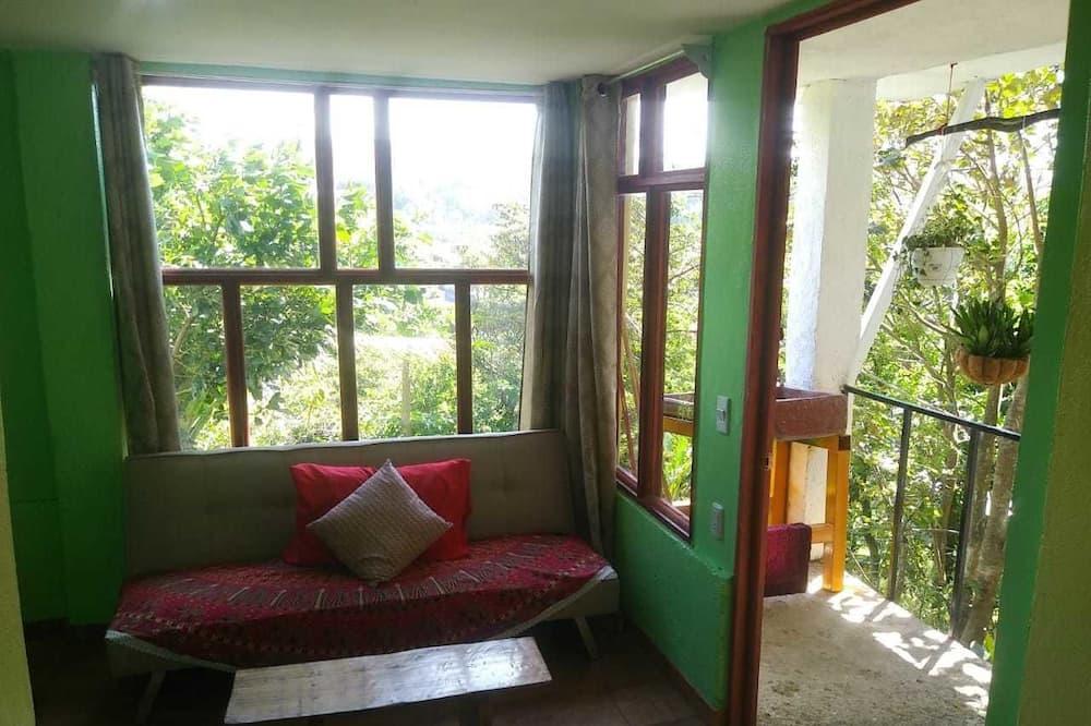Apartament podstawowy, 2 sypialnie, dla niepalących, widok na góry - Pokój