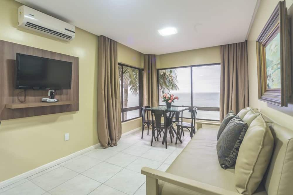 Dzīvokļnumurs, divas guļamistabas, skats uz jūru - Numura ēdamzona