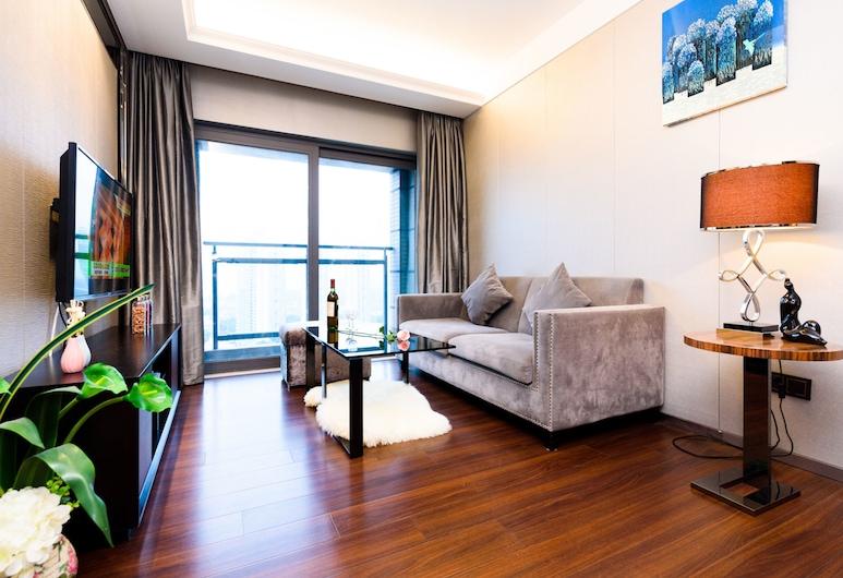 Lv Jia Apartment, Shenzhen, Deluxe-Apartment, 2Schlafzimmer, Wohnzimmer