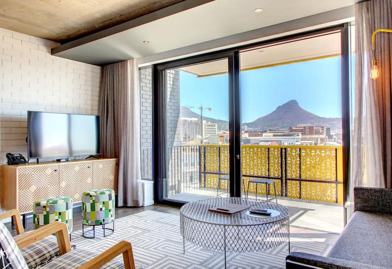 Stock Exchange Apartment Hotel, Cape Town, Apartment, 2 Bedrooms, Living Room