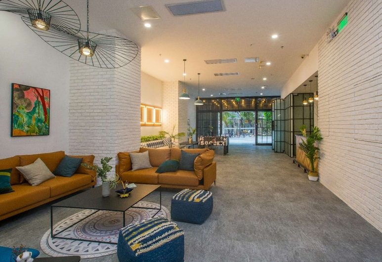 Harbour Co Living, Guangzhou, Lobby Sitting Area