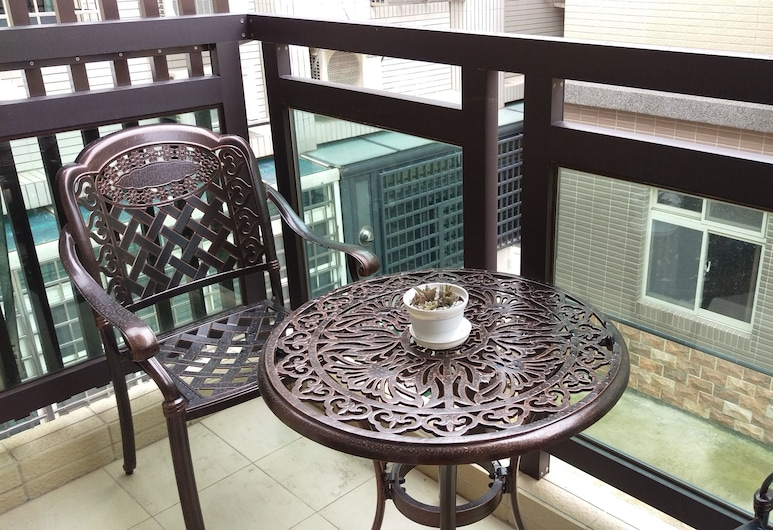 Casuarina B&B, Jinning, Double Room, Balcony, Terrace/Patio