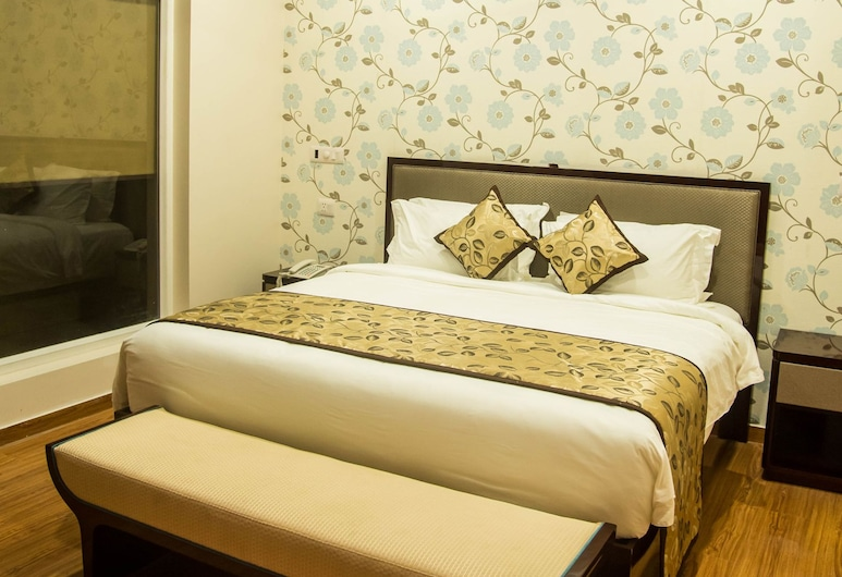 納文大陸酒店, 安拉阿巴德, 客房