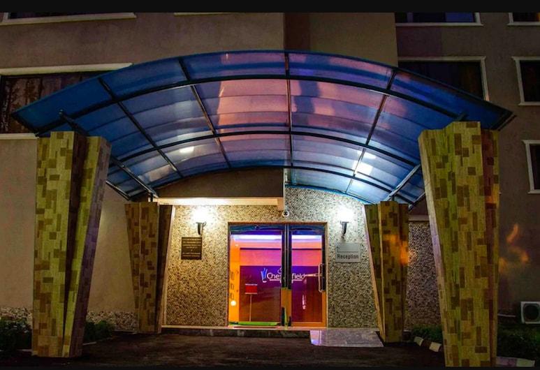Chesterfield Hotel & Suites, Lagos, Ingang van hotel
