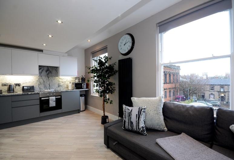 Priory Street Apartment 4, York, Appartement, non-fumeurs, Coin séjour