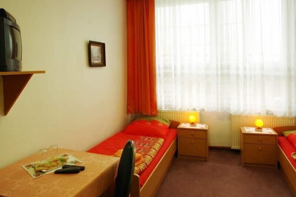 Dvivietis kambarys (2 viengulės lovos), atskiras vonios kambarys - Svečių kambarys