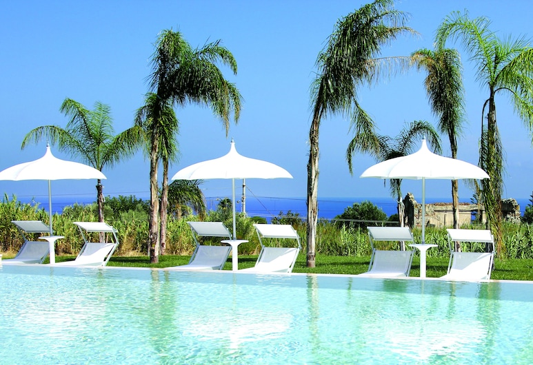 Il Borghetto Creative Resort, Tropea, Pool-Wasserfall