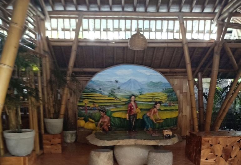 Ubud luxery family resort, Mas, Resepsiyon