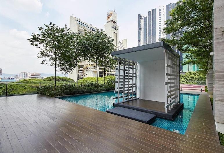 吉隆坡市中心元素開放式客房 - 蓋斯雷迪飯店, 安邦, 游泳池