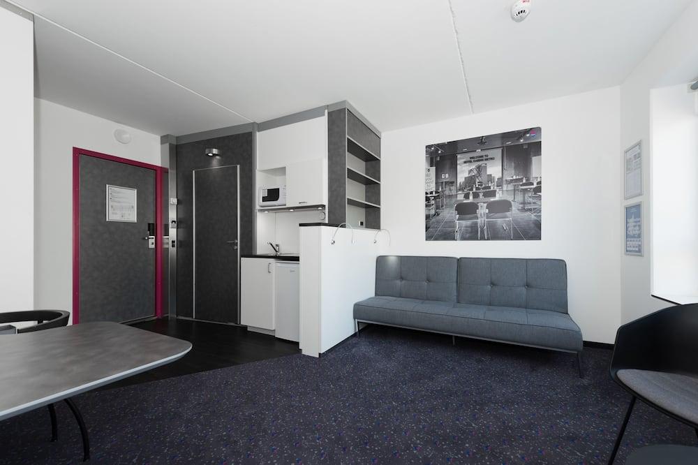 Apartment, 1 Bedroom, Kitchenette - Living Area