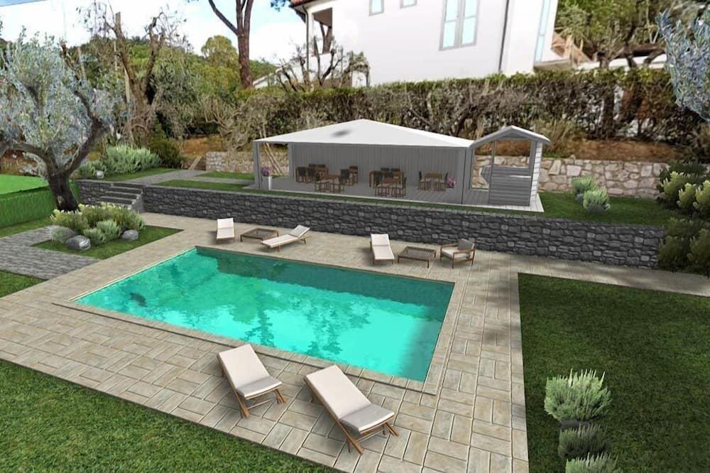 Baras prie baseino