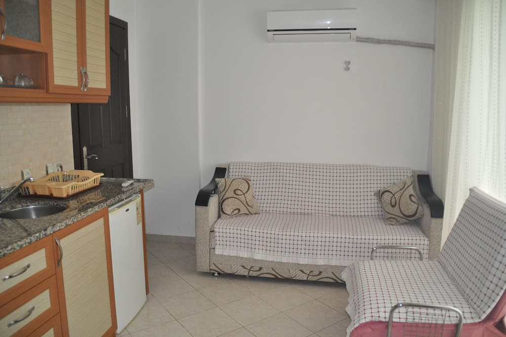 아파트, 침실 1개, 발코니 - 거실 공간