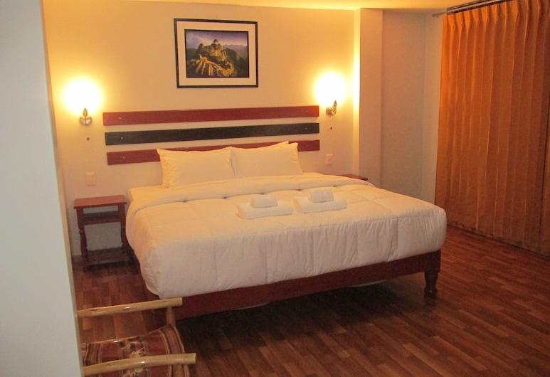Hatun Wayna Inn Machu Picchu, Machu Picchu, Chambre Double Supérieure, 1 très grand lit, salle de bains privée, Chambre