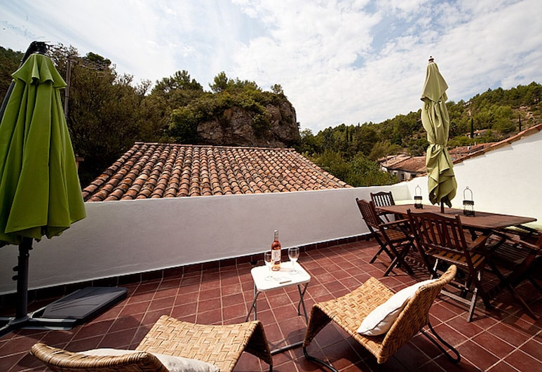 Renovated 19th Century Former French Winemakers Home, Cessenon-sur-Orb, Teras/Patio
