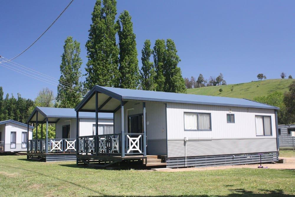 Riverfront Cabin - Living Area