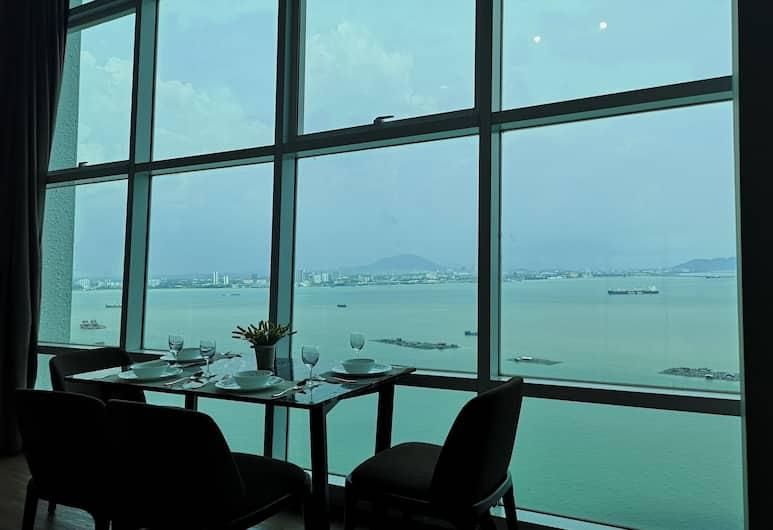 Summertime Maritime Suites, George Town, Luxury sviit, vaade merele (III), Lõõgastumisala