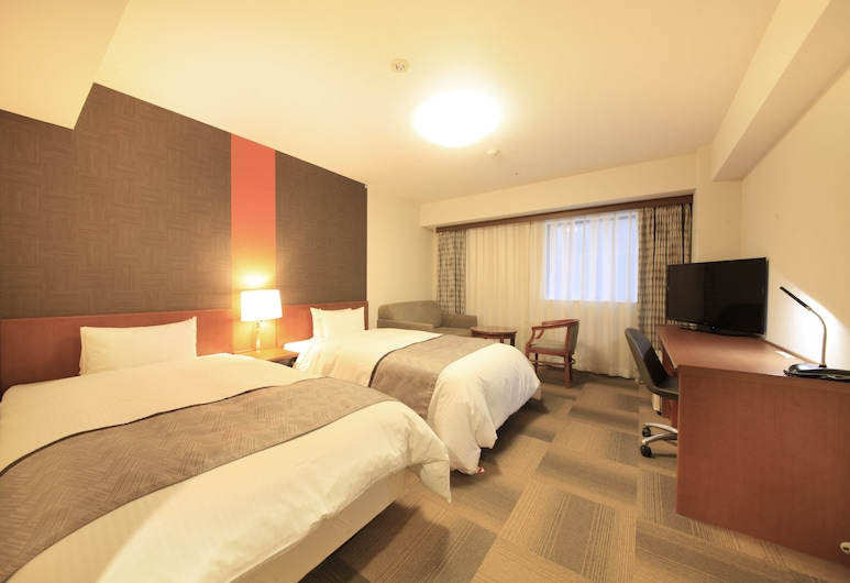 Richmond Hotel Sapporo Odori, Sapporo, Kahden hengen huone, Tupakointi kielletty, Vierashuone