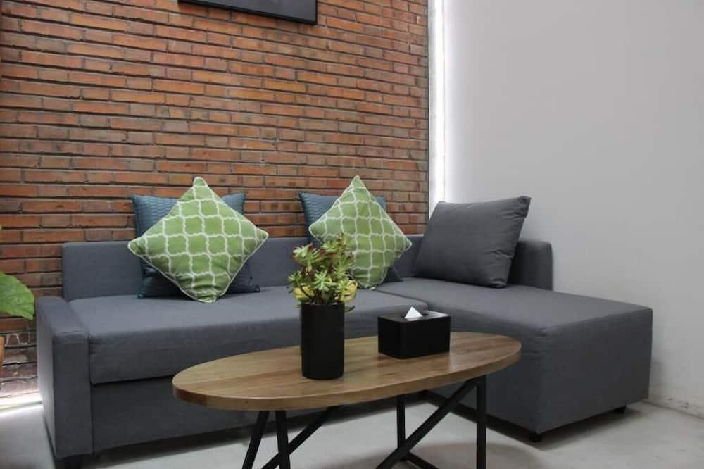 Familien-Maisonette - Wohnbereich